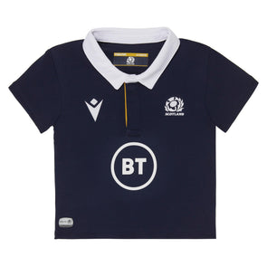 Macron Scotland Rugby Baby Home Replica Shirt | Navy | 2020/21