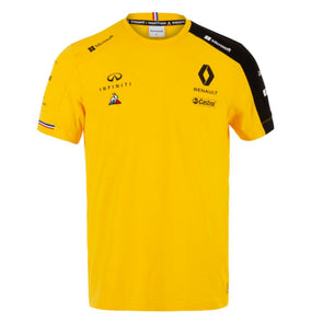 Renault Sport Mens Team T-Shirt | Yellow | 2019