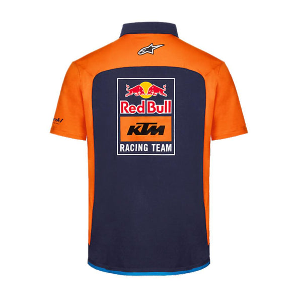 Red Bull KTM Racing Official Teamline Men's Polo Shirt | 2021