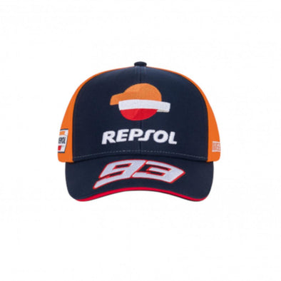 Marc Marquez Repsol Honda Mens Baseball Cap | Navy/Orange | 2020