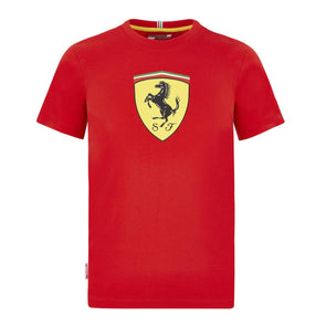 Scuderia Ferrari Kid's Large Shield T-Shirt | Red | 2020