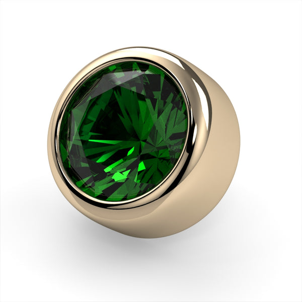 Emerald Bezel End
