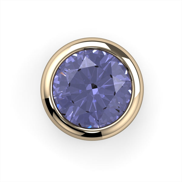 Tanzanite Bezel End