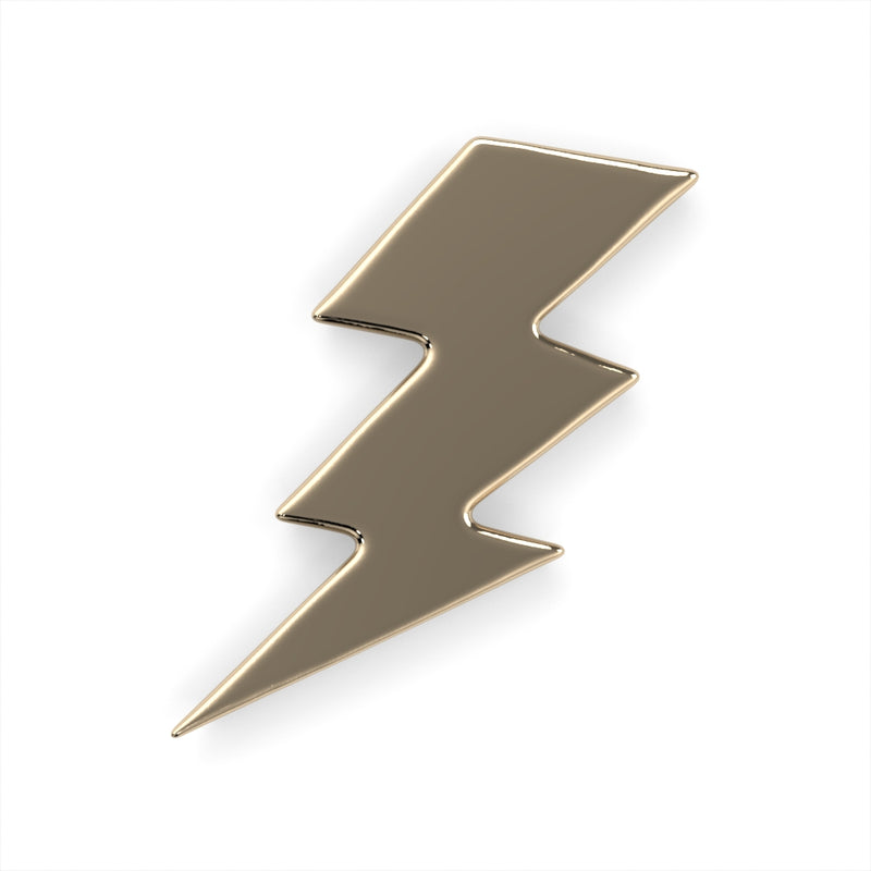 Lightning Bolt Charm End