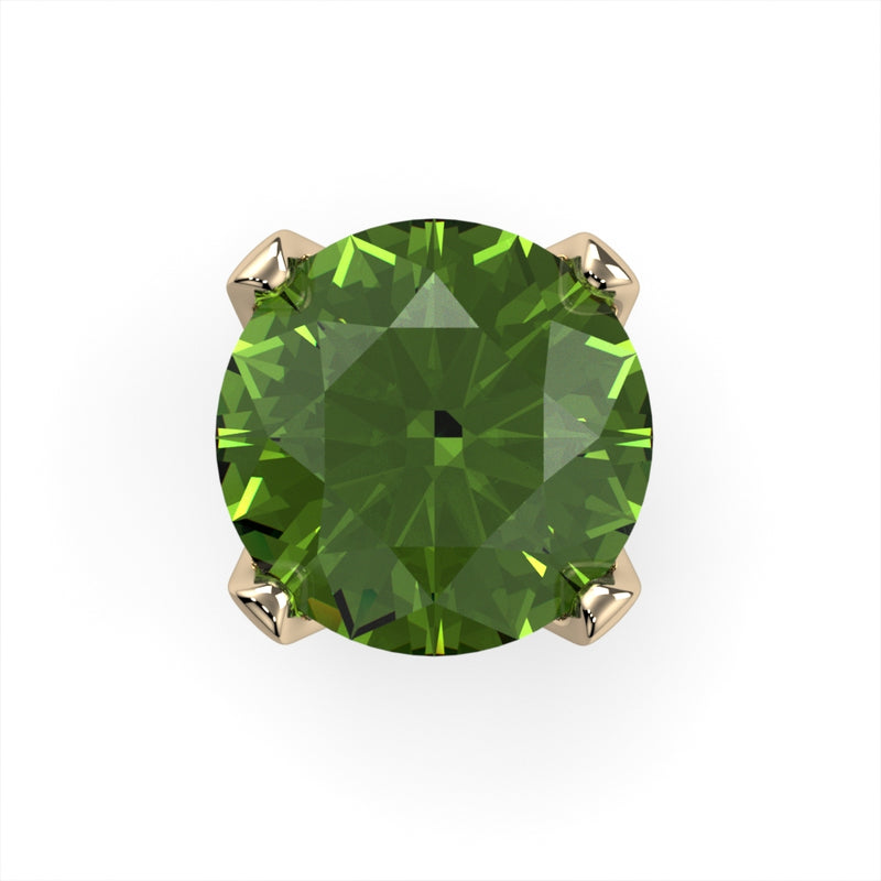 Peridot Prong End