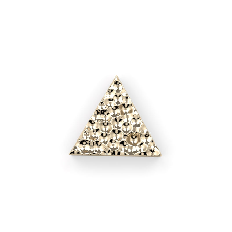 Hammered Triangle End