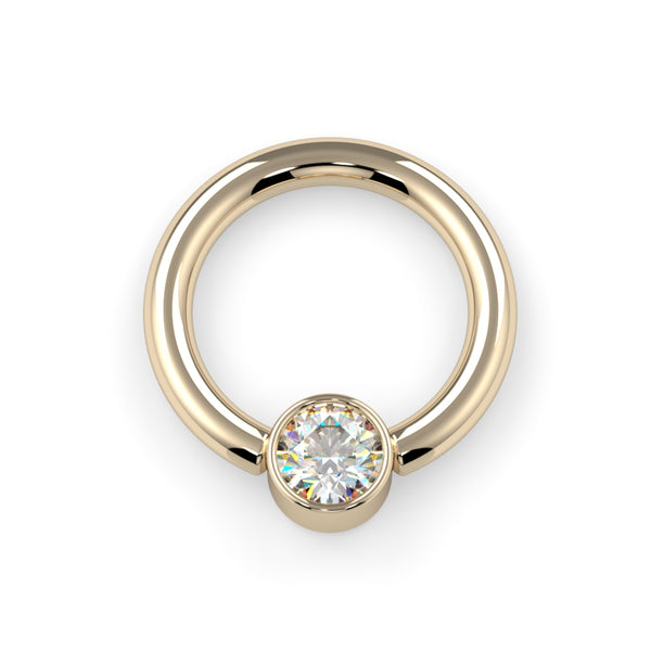 3mm CZ Captive Bead Ring