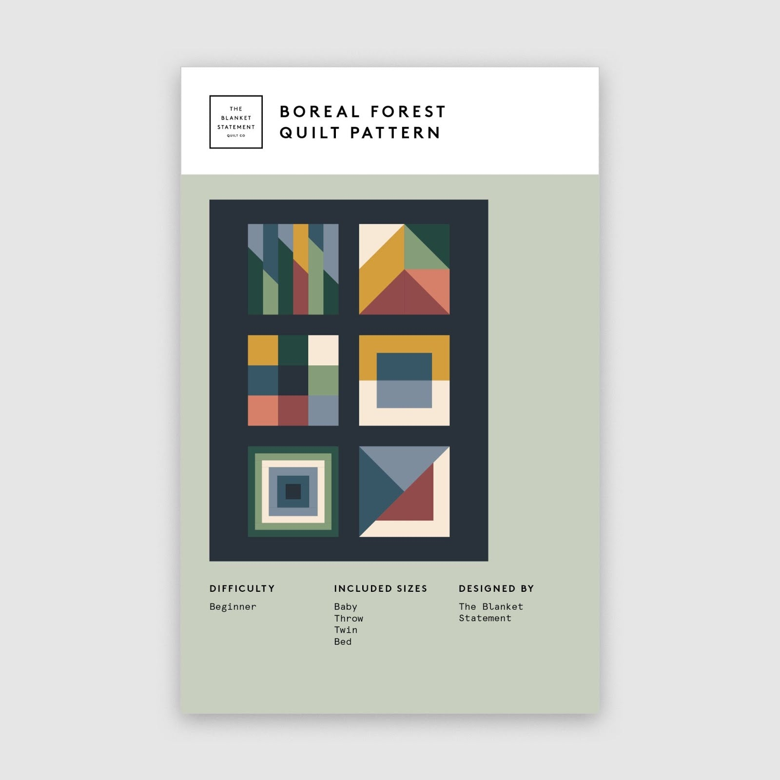 Boreal Forest Paper Pattern Cover