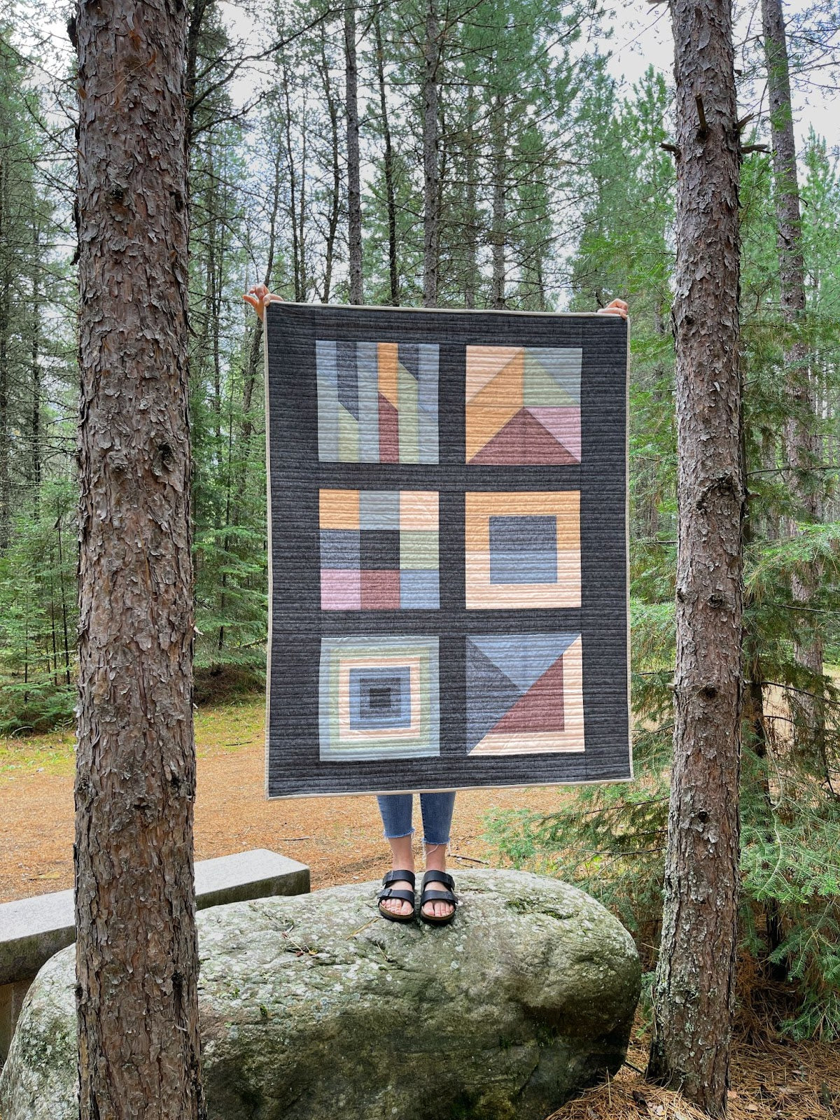 Boreal Forest Linen In Trees