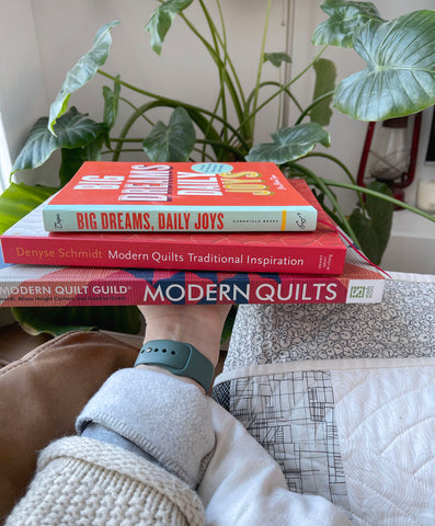 TBS Must Have Quilt Books: Stack