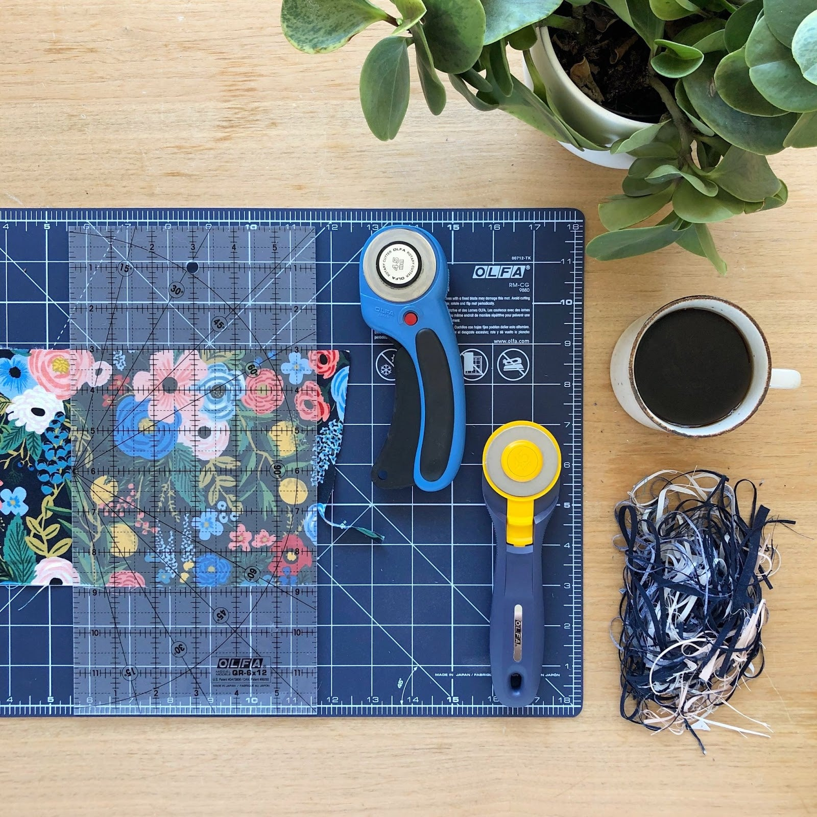 Cutting Tools and Rifle Paper Fabric