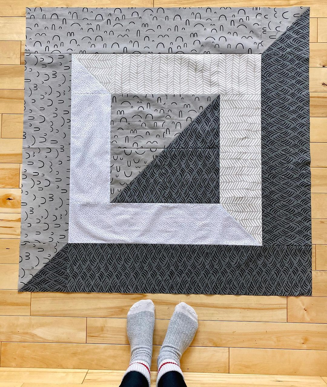 Grey Riding Mountain On Floor