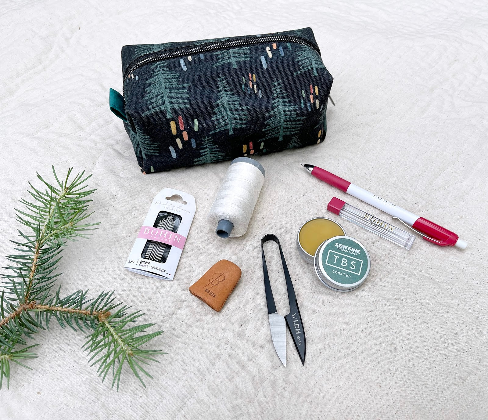 Boreal Forest Hand Quilting Kit