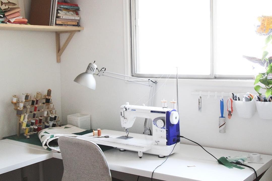 Machine And Sewing Space