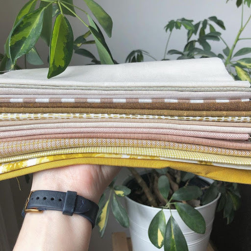 Mellow Yellow Fabric Stack Steep Rock
