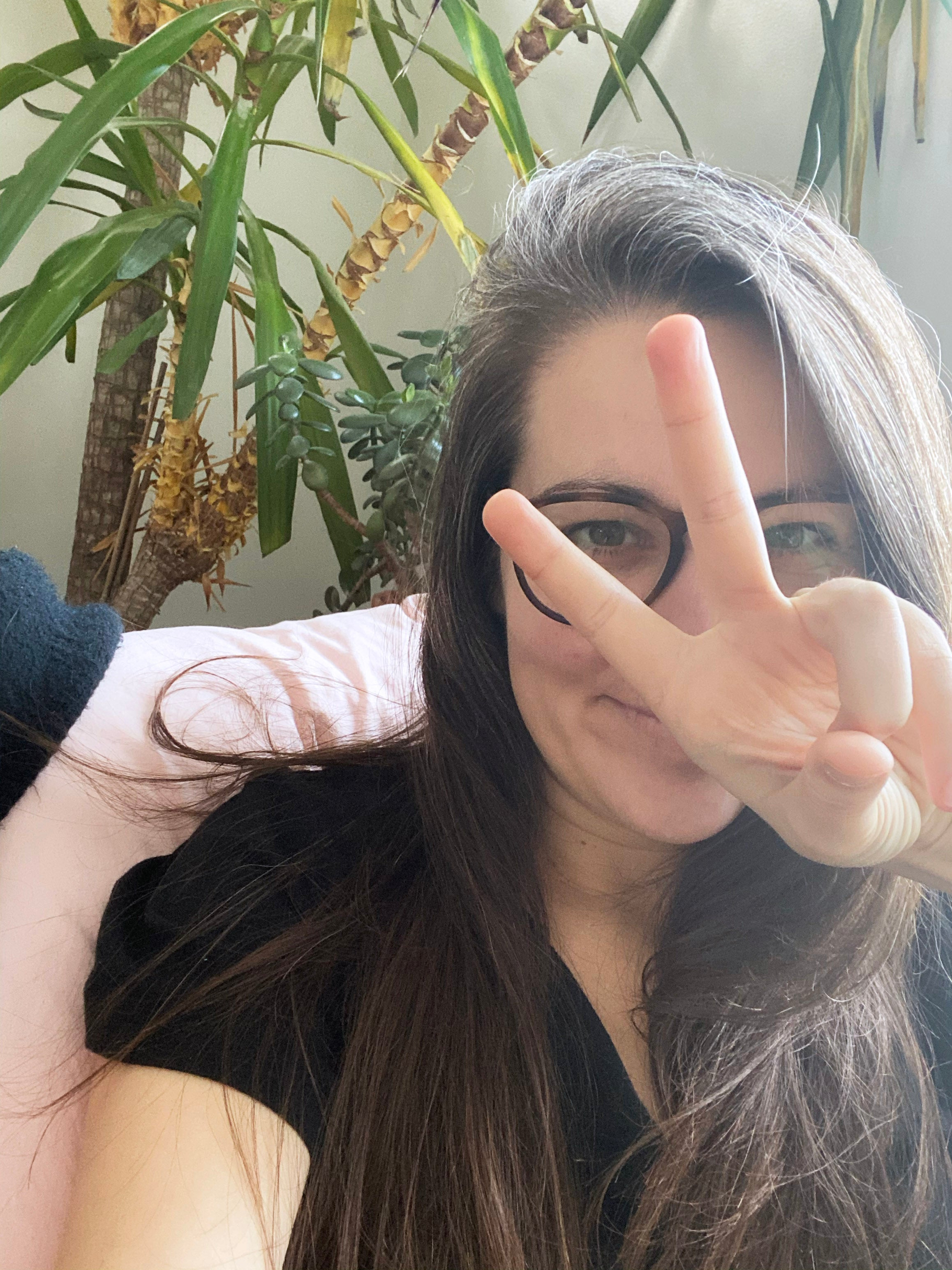 Erin Recovery Peace Sign