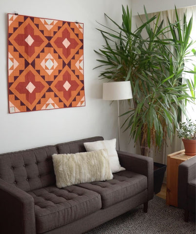 Spruce Woods Cover Quilt Wall Hanging