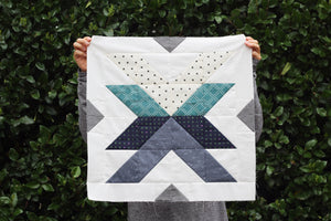 Cross Lake Quilt Pattern