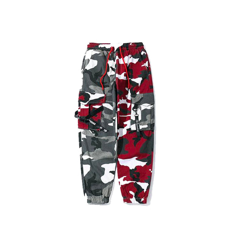 Double Camo Joggers