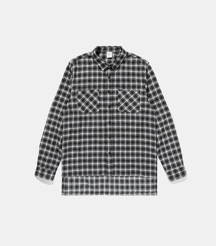 Oversized Sleeve Flannel