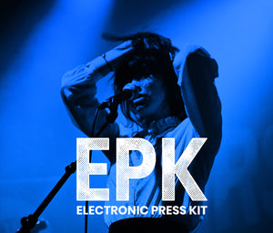 EPK (Electronic Press Kit Design)