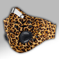 Leopard Skin 3D Carbon PM 2,5 Face Mask