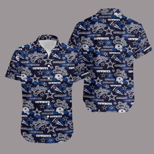 Dallas Cowboys Retro Hawaiian Shirt