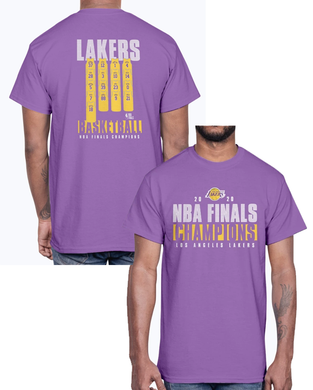 Los Angeles Lakers 2020 NBA Finals Champions Ready To Play Roster T-Shirt