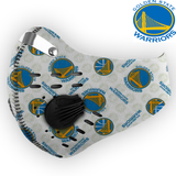 Golden State Warriors Carbon PM 2,5 Face Mask