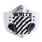 Off White Mask White Carbon PM 2,5 Face Mask