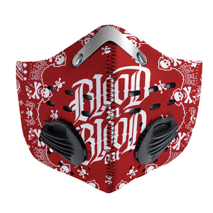Blood In Blood Out - Vatos Locos Bandana Carbon PM 2,5 Face Mask