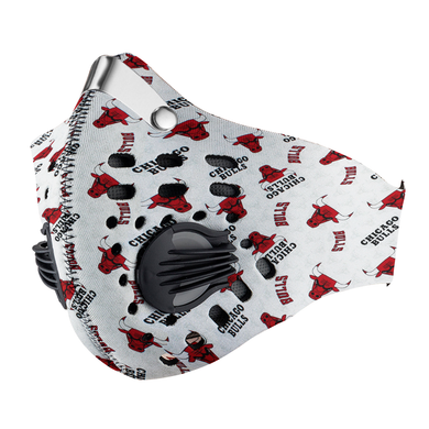 Chicago Bulls Carbon PM 2,5 Face Mask