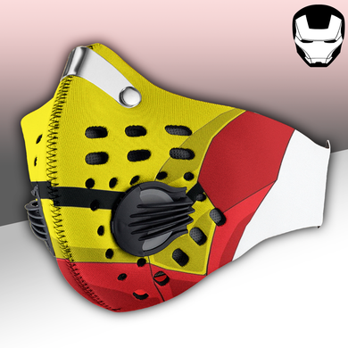 Iron Man Mask Carbon PM 2,5 Face Mask
