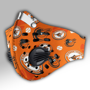 Baltimore Orioles Carbon PM 2,5 Face Mask