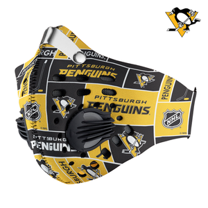 Pittsburgh Penguins Carbon PM 2,5 Face Mask