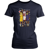 NBA Legends Lebron James - Michael Jordan - Kobe Bryant T-Shirt