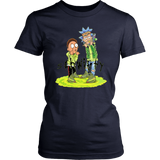 Rick and Morty Frozen Yellow Yeezy shirt
