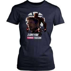 I love you 3000 Shirt For Robert Doweny Jr - Iron Man Tribute - I love you 3000 - Avengers Endgame