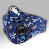 Kansas City Royals Carbon PM 2,5 Face Mask