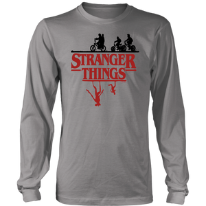 Stranger Things In The Woods Stuck In The Upside Down Shirt
