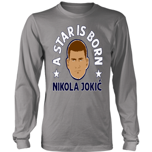 A STAR IS BORN - NOKOLA JOKIC SHIRT Denver Nuggets