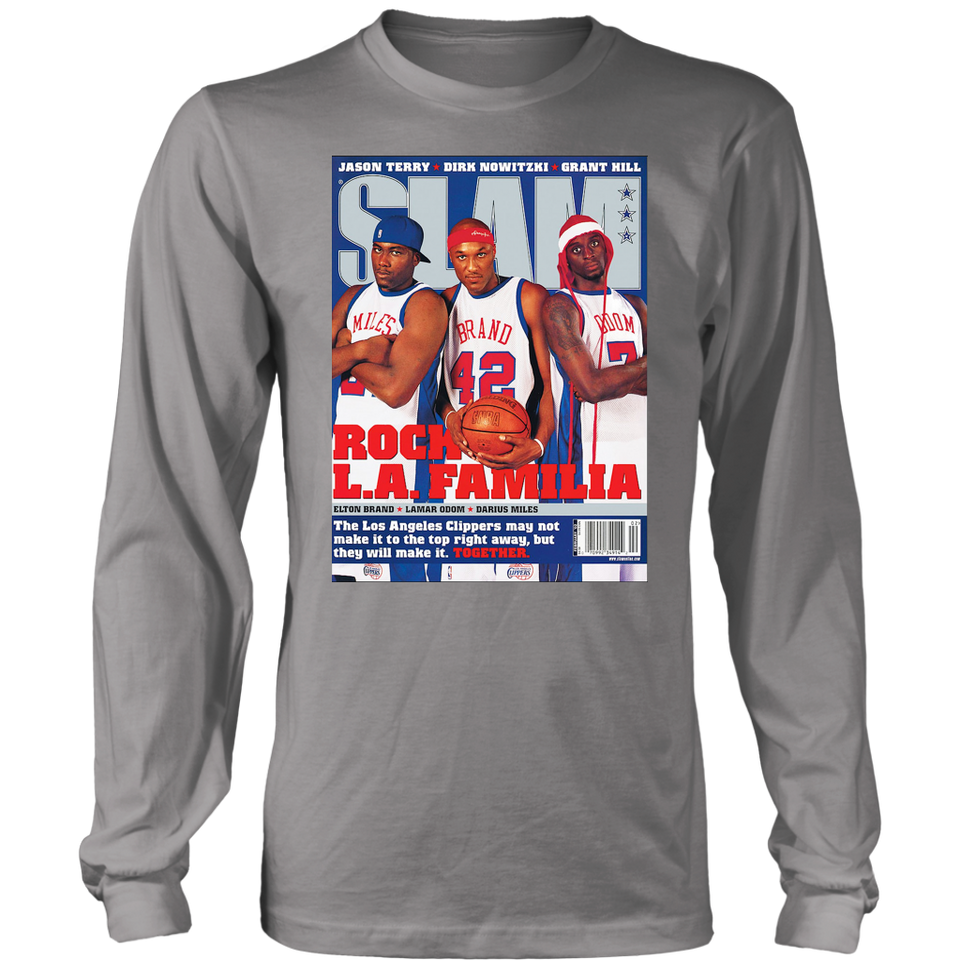 SLAM COVER ROCK L.A. FAMILIA SHIRT