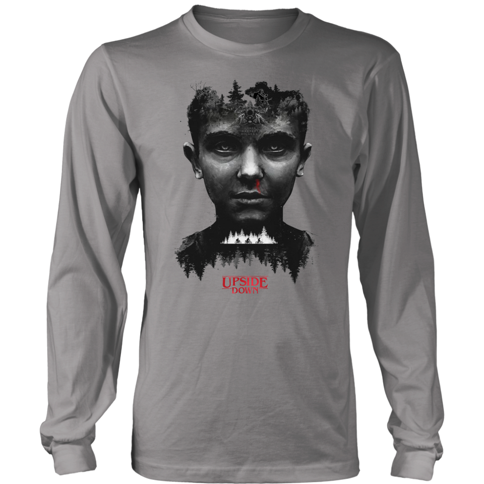 ELEVEN STRANGER THINGS THE UPSIDE DOWN SHIRT