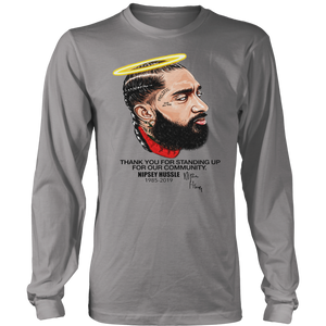 Rip NipSay Hussle 1985  - 2019 - Thank You  For Standing Up For Our Community Shirt
