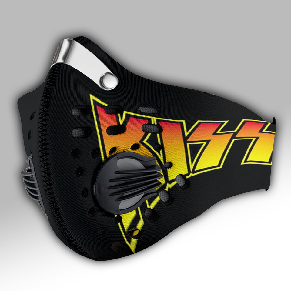 Kiss Band Carbon N95 Face Mask