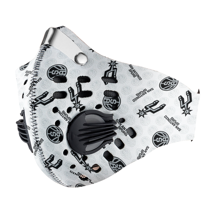 San Antonio Spurs Carbon PM 2,5 Face Mask