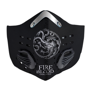 House Targaryen Carbon PM 2,5 Face Mask