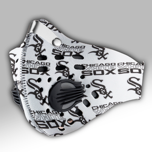 Chicago White Sox Carbon PM 2,5 Face Mask
