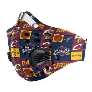 Cleveland Cavaliers Carbon PM 2,5 Face Mask