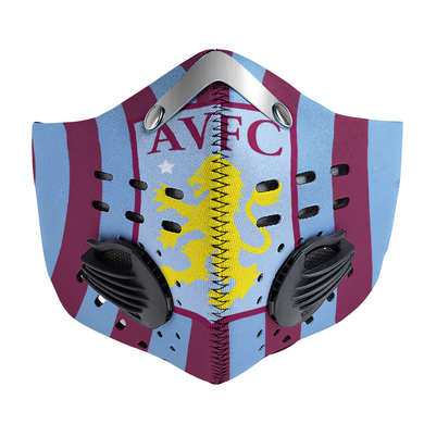 Aston Villa Carbon PM 2,5 Face Mask